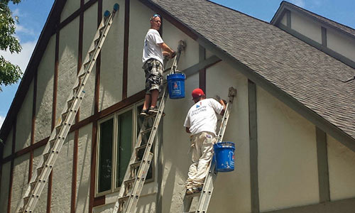 Lake Orion MI Exterior Painting